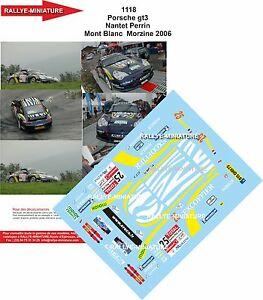 【送料無料】模型車 スポーツカー デカールポルシェグアテマララリーマウントホワイトラリーdecals 118 ref 1118 porsche 911 gt3 nantet rally mount white 2006 rally wrc