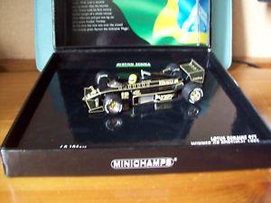 【送料無料】模型車 スポーツカー 143ayrton senna lotus 97t renault turbo first f1win portugal gp 1985143 ayrton senna lotus 97t renault turbo first f1 win