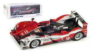 【送料無料】模型車 スポーツカー スパークアウディプラス#ルマンスケールspark 43lm10 audi r15 plus tdi 9 le mans winner 2010 143 scale