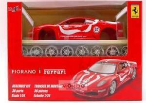 【送料無料】模型車 スポーツカー フェラーリチャレンジキットferrari f 430 challenge kit 124 maisto mi39110