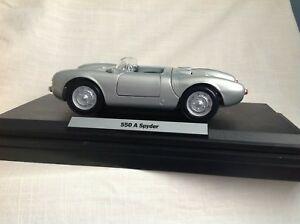 【送料無料】模型車 スポーツカー ポルシェデザインドライバスパイダーporsche design drivers selection 118 550 a spyder  wap 021 032 14