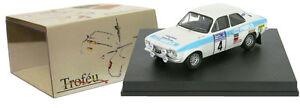 【送料無料】模型車 スポーツカー フォードエスコート#ロジャークラークスケールtrofeu 517 ford escort mk i rs 1600 4 winner rac 1972 roger clark 143 scale