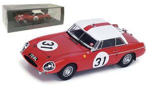 【送料無料】模型車 スポーツカー スパークs4136 mg bハードトップ3112ルマン1963 ホップカークhutcheson 143spark s4136 mg b hardtop 31 12th le mans 1963 hopkirkhutcheson 143 sca
