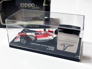 【送料無料】模型車 スポーツカー パナソニックトヨタレーシングzippo limited edition panasonic toyota racing tf103 lighter amp; 143 diecast car