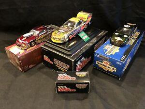 【送料無料】模型車 スポーツカー クルスグレッグアンダーソンブリストル listing124 cruz pedregon greg anderson and bristol nationals funny cars lot of 3