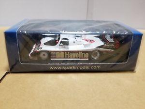 【送料無料】模型車 スポーツカー スパークポルシェセブリングspark 43se88 porsche 962 winner sebring 12h 1988 143