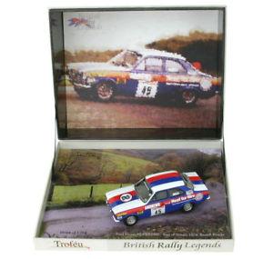 【送料無料】模型車 スポーツカー trofeu brl09フォードエスコートmkirs2000ツアー1974rブルック143trofeu brl09 ford escort mk i rs2000 tour of britain 1974 r brookes 143 scal