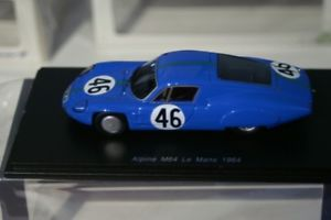 【送料無料】模型車 スポーツカー スパークアルパインルマンspark alpine m64 le mans 1964 hmorrogh 143 resin s5680