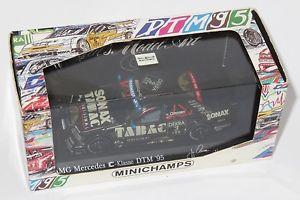 【送料無料】模型車 スポーツカー メルセデスタバコ143 amg mercedes c klasse sonax tabac dtm 1995 jvommen