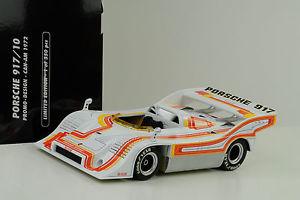 【送料無料】模型車 スポーツカー 1972ポルシェ91710917interserieウィリーkauhsen 1181972 porsche 917 91710 canam interserie winner willi kauhsen 118