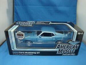 【送料無料】模型車 スポーツカー アメリカフォードムスタングカーエリートエディションertl american muscle 118 1969 ford mustang gt car elite edition