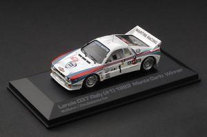 【送料無料】模型車 スポーツカー モンテカルロ#ランチアラリーマティーニモデルlast one 1983 monte carlo winner hpi 957 lancia 037 rally martini 143 model