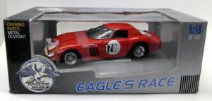 【送料無料】模型車 スポーツカー イーグルズ118ダイカスト16200フェラーリ250gto 1964ツアーフランスモデルカーeagles race 118 scale diecast 16200 ferrari 250 gto 1964 tour france model c