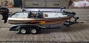 【送料無料】模型車 スポーツカー デイルアーンハートバスプロショップボートトレーラーdale earnhardt bass pro shop boat and trailer