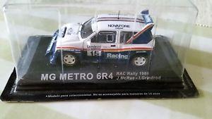 【送料無料】模型車 スポーツカー マクレーラリーレースモータースポーツ143 metro 6r4 mcrae 1986 rac rally race motorsport