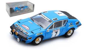 【送料無料】模型車 スポーツカー スパークアルパイン#ツールドコルススケールspark s5478 alpine a310 7 3rd tour de corse 1974 j l therier 143 scale