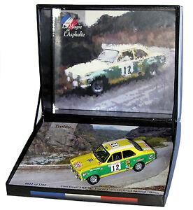 【送料無料】模型車 スポーツカー trofeu lma 10フォードエスコートmkirsde1973 g chasseuil 143trofeu lma 10 ford escort mk i rs tour de corse 1973 g chasseuil 143 sca