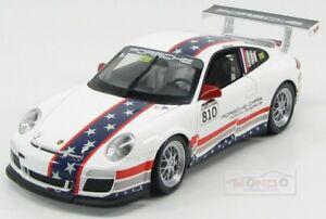 【送料無料】模型車 スポーツカー ポルシェチームフラグ#グアテマラカップマップporsche 911 9972 team us flag 810 gt3 cup 2012 m snow welly 118 map02104014 m