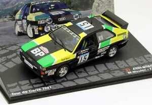 【送料無料】模型車 スポーツカー wrc audi quattroムートン1981 143 ixoaltayawrc audi quattro mouton 1981 143 ixoaltaya