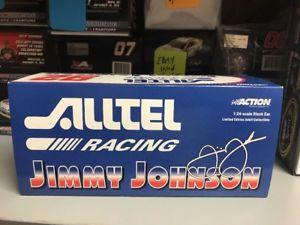 【送料無料】模型車 スポーツカー ボックススリーブスペルミスジミージョンソン2000 rookie jimmie johnson alltel name misspelled on box sleeve