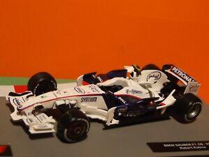 【送料無料】模型車 スポーツカー 2008f1ロバートkubica bmw sauber f108 1432008 formula 1 robert kubica bmw sauber f108 143 scale
