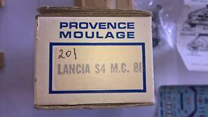 【送料無料】模型車 スポーツカー ランチアデルタエクスアンプロヴァンスムラージュレジンキットlancia delta s4 provence moulage 143 resin kit