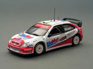 【送料無料】模型車 スポーツカー シトロエンクサラ#citroen xsara wrc 8 kmeeke bologna 2008 143 vitesse