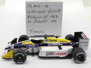 【送料無料】模型車 スポーツカー スケールキットウィリアムズベルギーピケtameo 143 scale built kit 15aug18 williams fw11b belgium gp 1987 n piquet