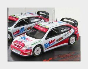 【送料無料】模型車 スポーツカー シトロエンクサラ#ラリースプリントボローニャモーターショーcitroen xsara wrc 8 rally sprint bologna motor show 2008 vitesse 143 ve43242 m