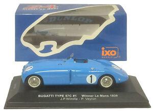 【送料無料】模型車 スポーツカー ネットワークブガッティタイプ#ルマンスケールixo lm1939 bugatti type 57c 1 winner le mans 1939 wimilleveyron 143 scale