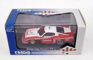 【送料無料】模型車 スポーツカー ワウトヨタセリカターボ#wow extremely rare toyota 1978 celica gr5 turbo 1 stommelen drm 143 ebbrodtm