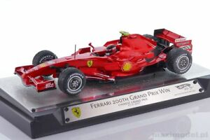 【送料無料】模型車 スポーツカー フェラーリライコネンf1 ferrari f2007 raikkonen chinese gp 200th 2007 118 hotwheels l8782