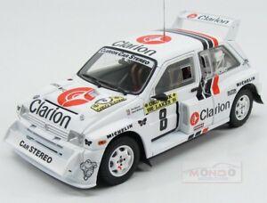 【送料無料】模型車 スポーツカー テキサスオースティンクラリオン#ラリーサンスターaustin mg metro 6r4 clarion 8 rally 1000 lakes 1986 eklund sunstar 118 ss5536