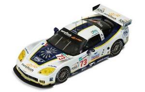 【送料無料】模型車 スポーツカー コルベットルマンネットワークモデルcorvette c6r n73 le mans 2008 blanchemaingouselard 143 ixo lmm156 model