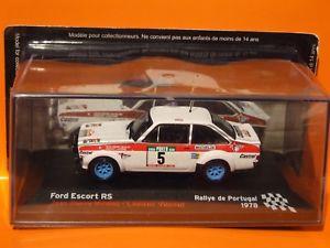 【送料無料】模型車 スポーツカー フォードエスコートラリーポルトガルスケールmk ii ford escort rs  1978 rally portugal 143 scale