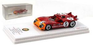 【送料無料】模型車 スポーツカー アルファロメオ#タルガフローリオスケールtruescale alfa romeo tipo 333 5 winner targa florio 1971 143 scale