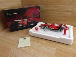 【送料無料】模型車 スポーツカー フェラーリモデル#シューマッハブラジルエリートレッドferrari 248 f1 model 5 m schumacher gp brazil 2006 hotwheels elite red 118