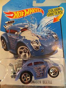 【送料無料】模型車 スポーツカー ホットホイールズvolkswagen beetleダイカスト164scale 3948マテルhot wheels colour shiftersvolkswagen beetle diecast 164scale 3948 mattel