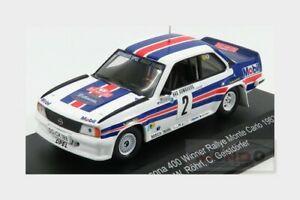 【送料無料】模型車 スポーツカー オペルアスコナ#ラリーモンテカルロopel ascona 2 winner rally montecarlo 1982 wrohrl geistdorfer cmr 143 wrc002