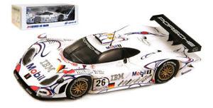 【送料無料】模型車 スポーツカー スパークポルシェグアテマラ#ルマンスケールspark 43lm98 porsche 911 gt1 26 winner le mans 1998 143 scale