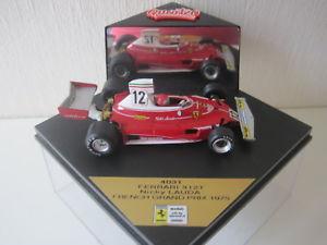 【送料無料】模型車 スポーツカー フェラーリラウダフランスquartzo 143 ferrari 312t n lauda winner gp france 1975 4031