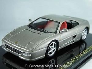 【送料無料】模型車 スポーツカー フェラーリモデルスケールグレーカラーferrari f355 berlinetta car model 143rd scale grey colour example bxd t3412z
