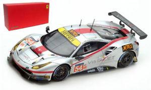 【送料無料】模型車 スポーツカー フェラーリ#レースルマンスケールlooksmart ferrari 488 gte 54 spirit of race le mans 2017 143 scale