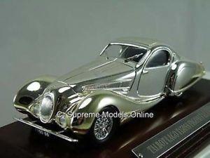 【送料無料】模型車 スポーツカー ウッドベースバージョンtalbot lago t150ss figoni car 143 plated finish amp; wood base version r0154x ^**^