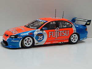 【送料無料】模型車 スポーツカー フォードハヤブサモータースポーツ#118 ford ba falcon britek motorsport wluff 2006 25 carlectables 18254
