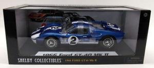 【送料無料】模型車 スポーツカー シェルビー118ダイカスト14011966フォードgt40 mk22レーシングカーshelby collectibles 118 scale diecast 1401 1966 ford gt40 mk2 blue 2 race car