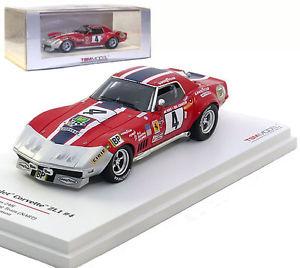 【送料無料】模型車 スポーツカー シボレーコルベット#ルマンハインツジョンソンtruescale chevrolet corvette zl1 4 nart le mans 1972 heinzjohnson 143