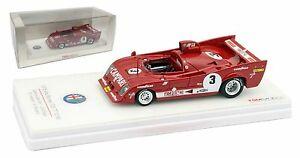 【送料無料】模型車 スポーツカー アルファロメオ#ワトキンズグレンスケールtruescale alfa romeo t33 tt 12 3 2nd 6hr watkins glen wsc 1975  143 scale
