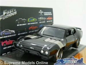 【送料無料】模型車 スポーツカー プリマスモデルカースケールアメリカfast amp; furious doms plymouth gtx model car 132 scale jada 98300 usa muscle k8