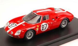 【送料無料】模型車 スポーツカー フェラーリモデルferrari 250 lm n27 6th lm 1965 dspoerryaboller 143 looksmart lslm018 model